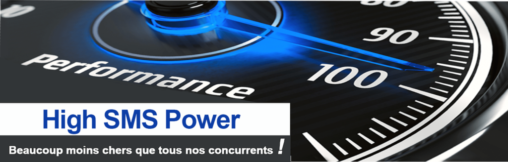 High SMS power low-cost beacoup moins cher